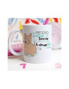 Taza Bulldog Francés Crema